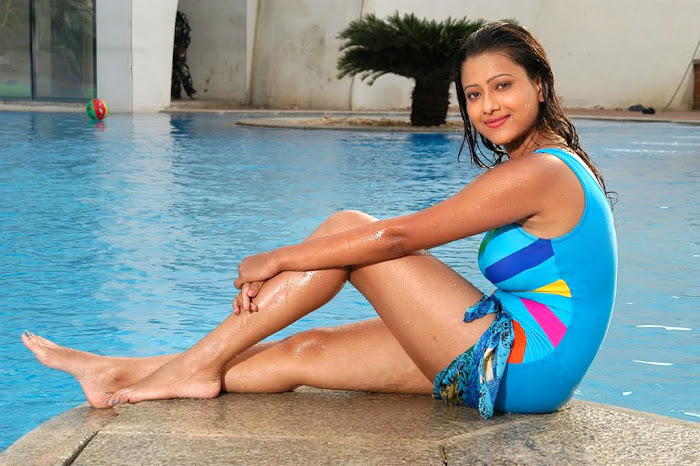 madalasa sharma bikini or swim suit act very