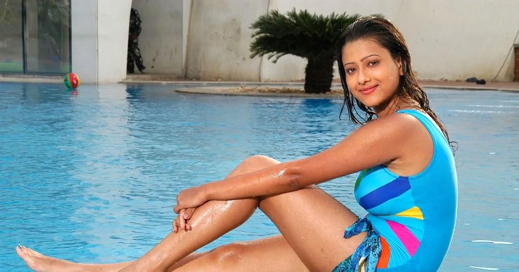 hot telugu and tamil actress madalasa sharma hot bikini or swim suit ...