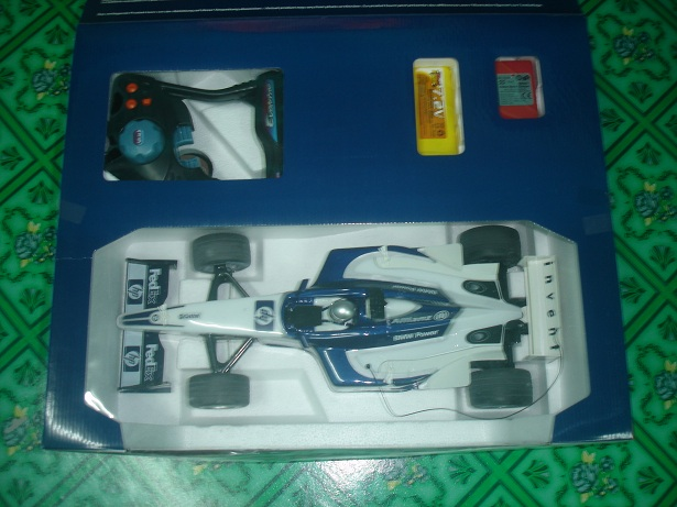 Name Of RC : Nikko F1 William Team RC Item Code : RC002