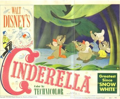 Vintage Disney Cinderella Ephemera