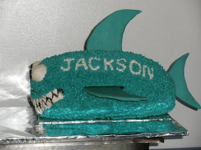 Shark Shaped Cake Pan