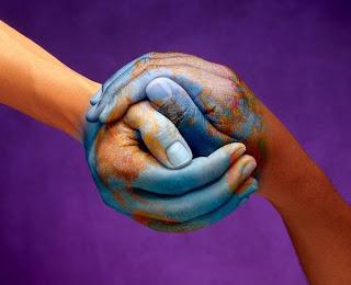 a Terra em nossas mãos