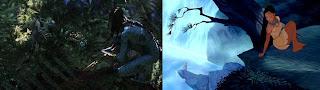Avatar x Pocahontas - mocinha é a primeira a contactar o estrangeiro