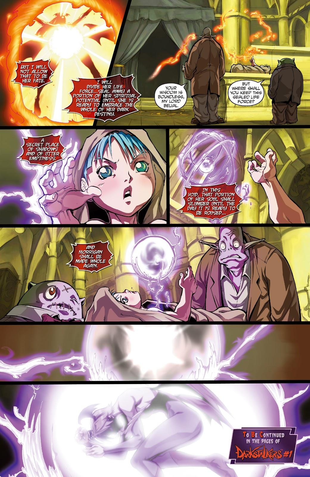 Darkstalkers Issue #0 #1 - English 10