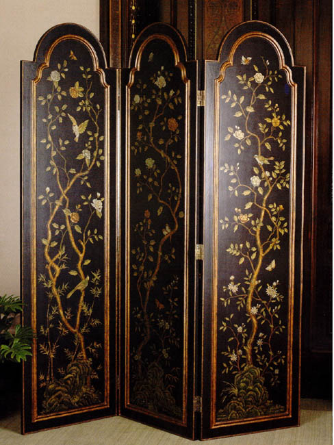 Beautiful affordable design the ease of the folding screen - Collapsible room divider ...