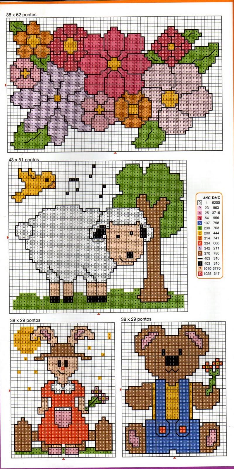 Вышивка на вязаной одежде (виды и схемы)