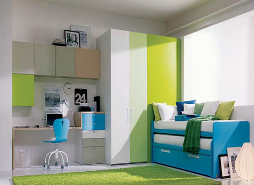 Study-Room bedrooms for teenage