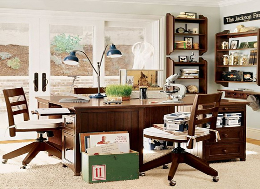 Kidsbedroom With Study Table : Study Table For Children In The Bedroom - HOME DESIGN  INTERIOR ...