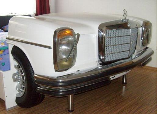 Bed Design Shaped Mercedes Car Home Design Interior Design Furniture