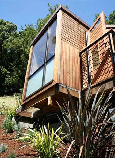 Prefab building small modern house home design for Small prefab buildings