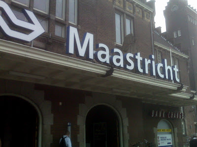 Maastricht, Netherlands, train station