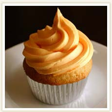 Carpe Cupcakes!: Recipe of the Week - Orange Cupcakes with Orange ...