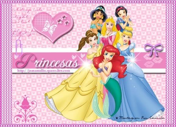 , sobretodo hay princesas disney y barbie como anelise, ariel ...