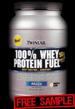 Amostra Grátis Twinlab 100% Whey Protein Fuel