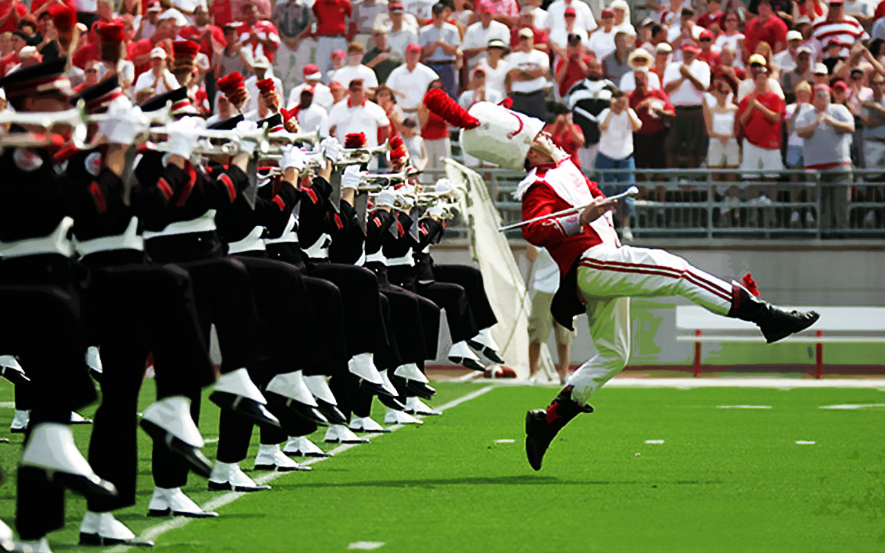 being drum major Being drum major is a difficult job there's a lot of behind-the-scenes work that  most people don't see the drum majors learn the name of all.