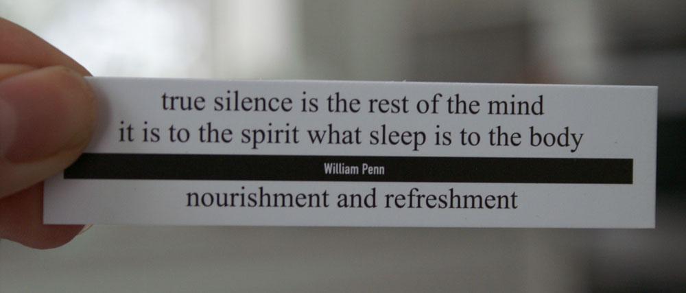 tale er sølv tavshed er guld