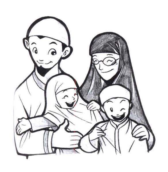 Keluarga ideal yang bahagia