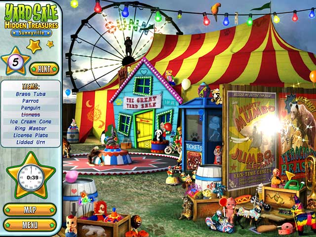Product picture Game Download - Yard Sale Hidden Treasures - Sunnyville