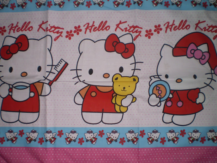 "Satwa Lucu ""Hello Kitty"""