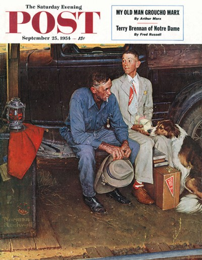 Potrzebie Norman Rockwell Mystery Solved