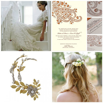 Wedding on All Things Wedding  Bohemian Beauty