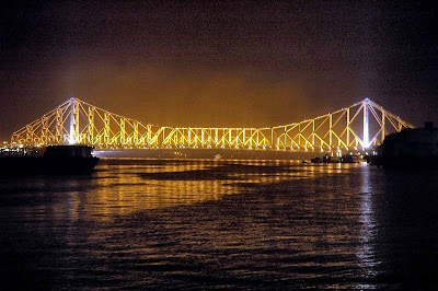 howrah bridge night