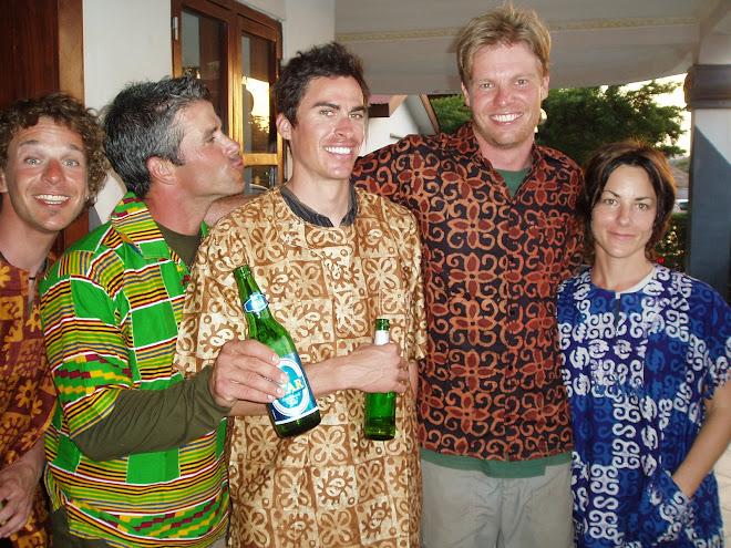 Roman, Gary, Matt, James & Helen