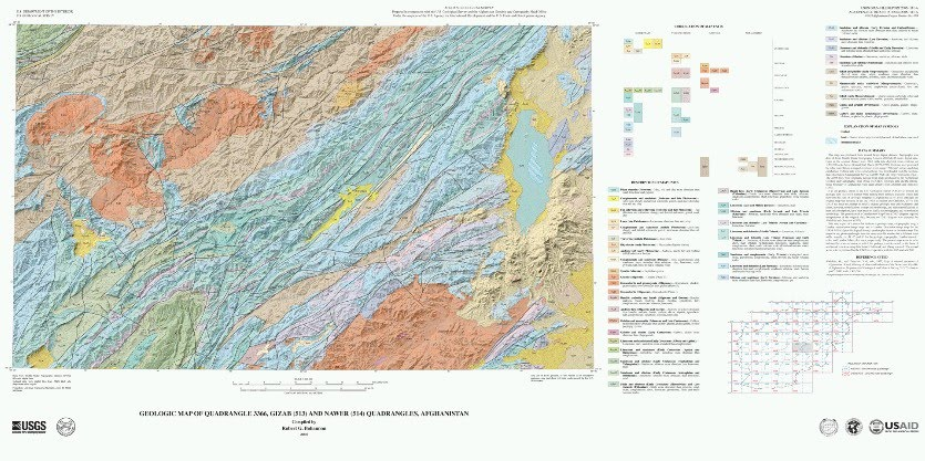 geology of temperate forest