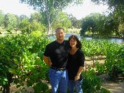 In the wine country