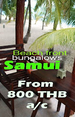 SAMUI BEACH FRONT FROM 800 THB