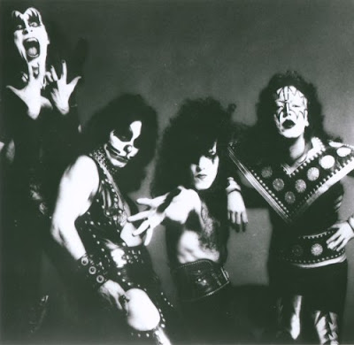 kiss in the 70s