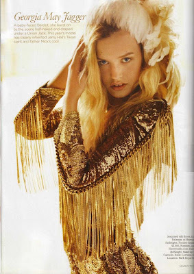georgia may jagger in gold