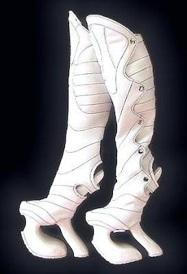 platform space boots