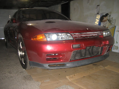 Rebuilt Nissan Skyline GTR