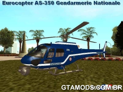 Eurocopter AS350 Gendarmerie Nationale