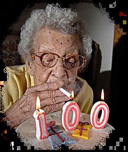 El cambio de las sustancias a la persona que ha dejado fumar