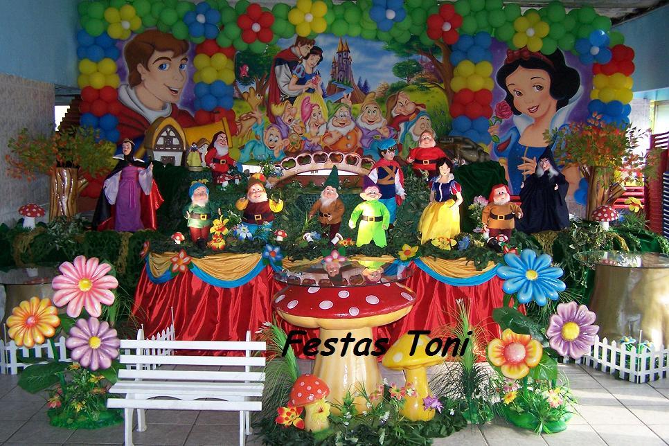 decoracao para festa infantil branca de neve: Toni – Decoração de Festa Infantil: Festas Toni – Branca de Neve