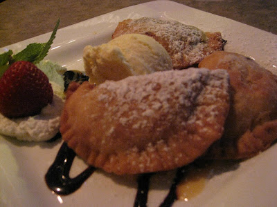 Of Fried Pies One Is Chocolate One Apple And One Peach It Was The Perfect Amount Of Dessert After All Of Our Indulgences The Crust Was Buttery And