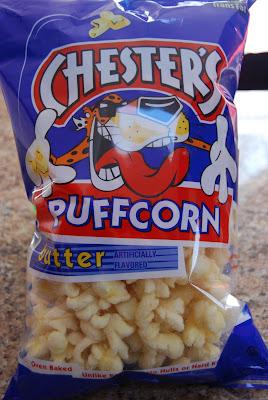 almond bark popcorn