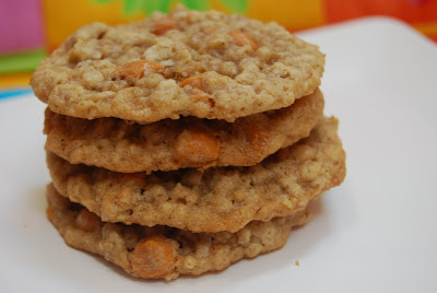 Oatmeal Butterscotch Cookies - Macaroni and Cheesecake