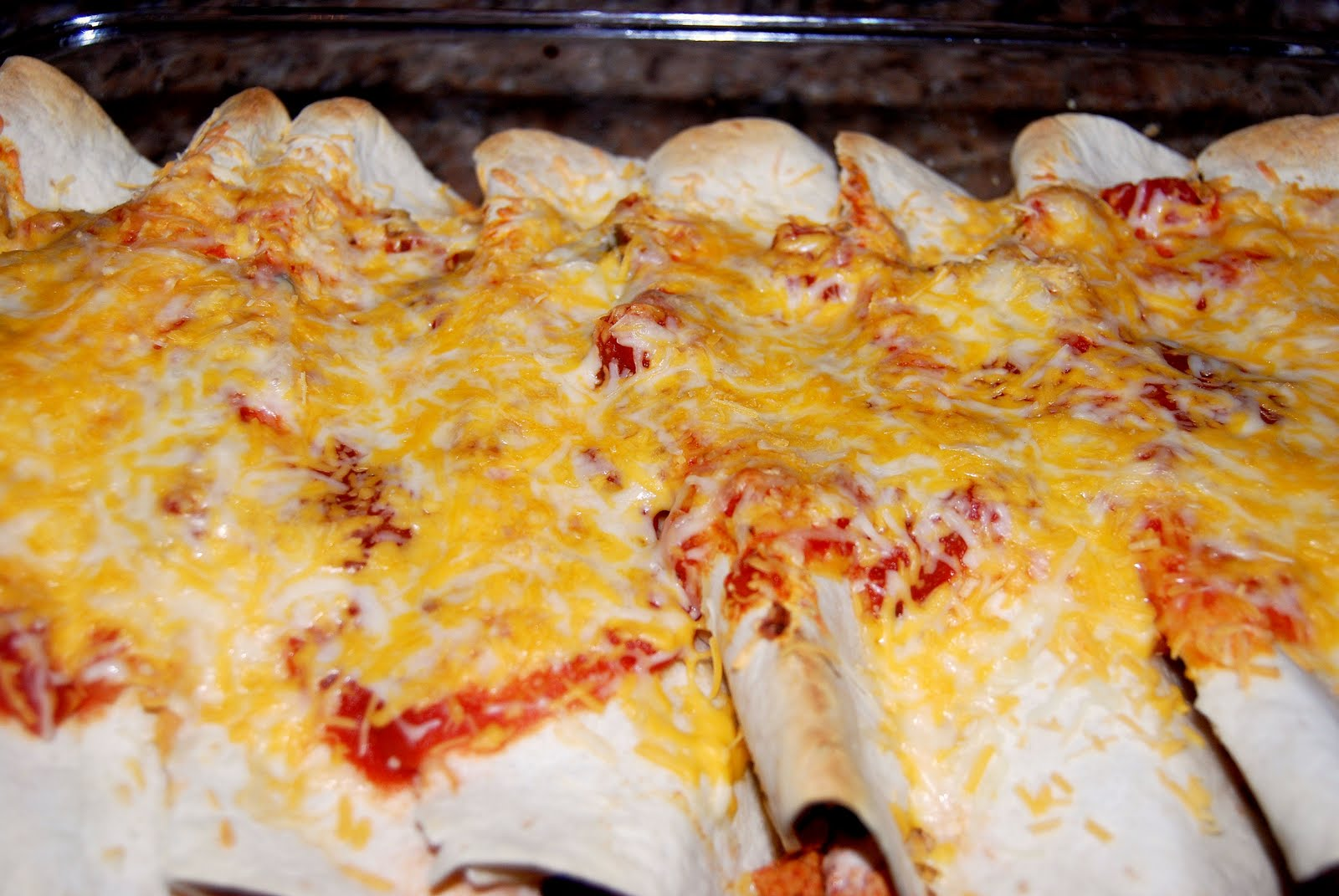 Ground Turkey Enchiladas - Macaroni and Cheesecake