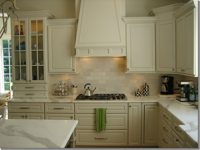 Whitehaven off white kitchens for Images of off white kitchen cabinets