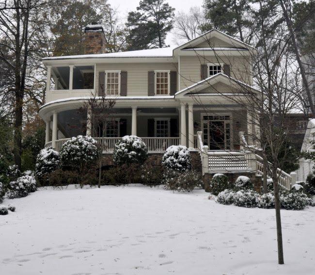 Atlanta Bungalow Renovation: Whitehaven: Atlanta's Peachtree Heights East In The Snow