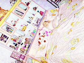 ha ~ 我的床^^