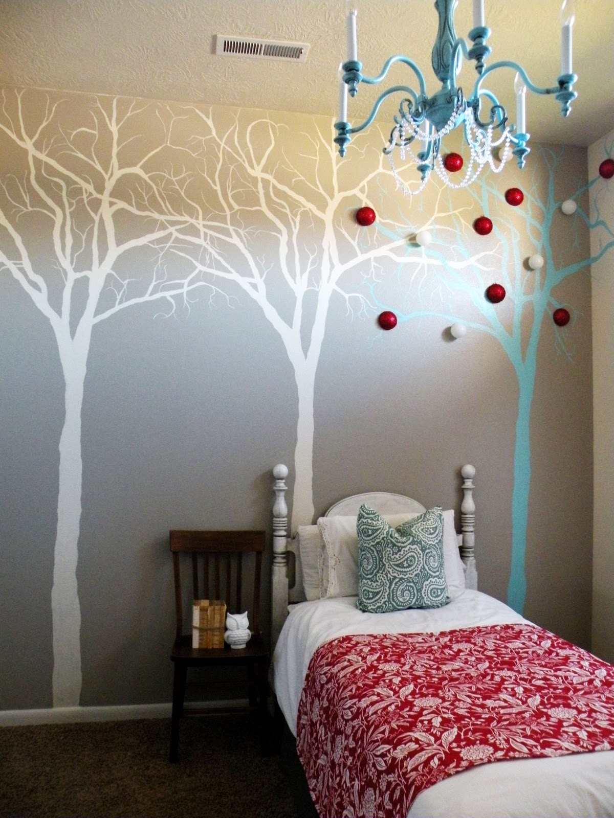 Tree Mural Tutorial Vintage Revivals