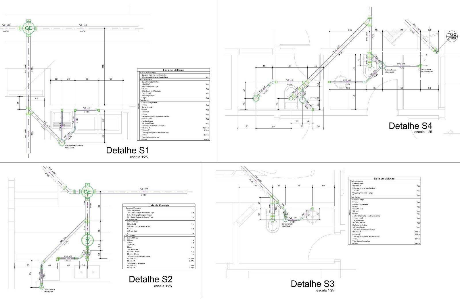 Projetos em geral e Cálculo Estrutural: Projeto de Instalações #5D8942 1600 1043