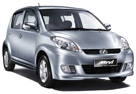 Perodua MyVi cars