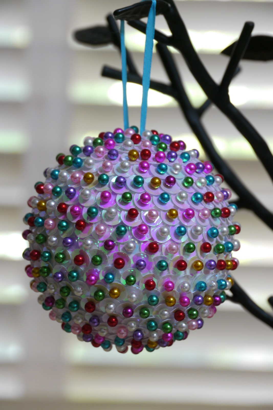 full of craft ornament month sequined ornament
