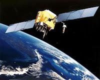 Taiteilijan näkemys GPS-satelliitista