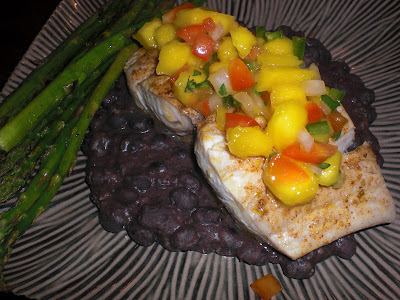 Spicy Mahi Mahi with Fresh Mango Salsa - Get Off Your Tush ...